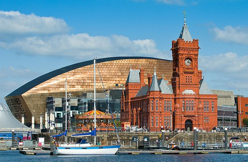 Cardiff Bay - The Pierhead Building